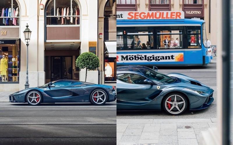 Bộ mâm xe màu bạc cùng kẹp phanh màu đỏ nổi bật