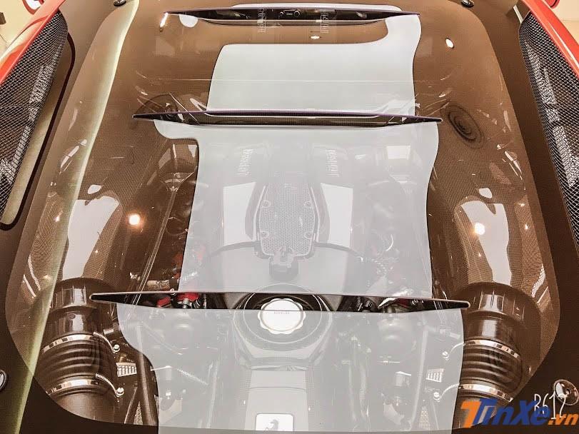 Ferrari F8 Tributo có công suất lên đến 710 mã lực