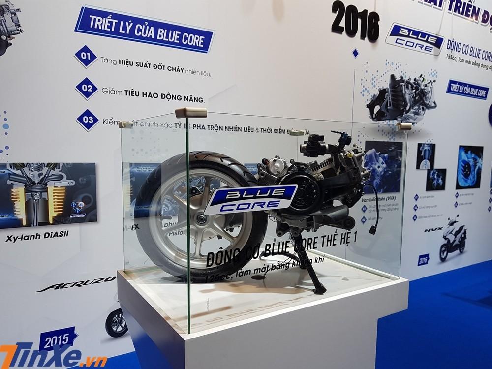 Năm 2019 đánh dấu kỷ niệm 5 năm động cơ Blue Core của Yamaha ra đời