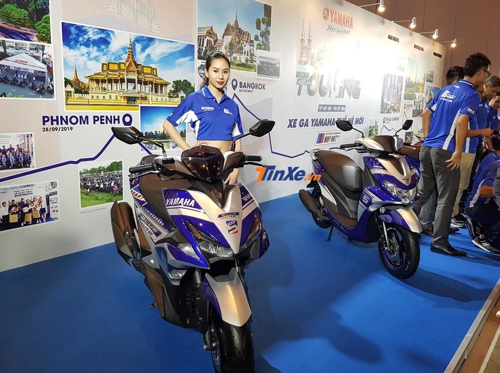 Hành trình Asean Blue Core Touring chỉ quy tụ những chiếc xe tay ga