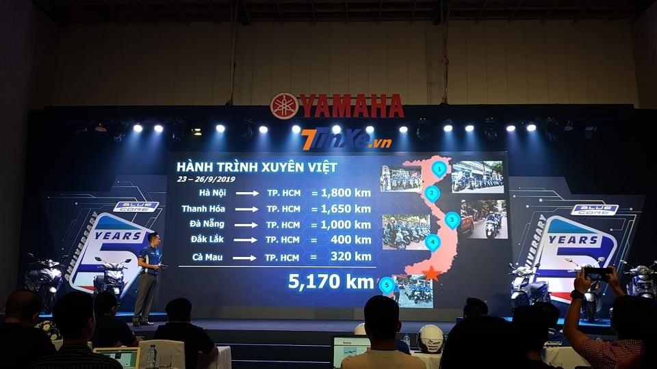 Trước đó các thành viên tham dự đã có hành trình xuyên Việt
