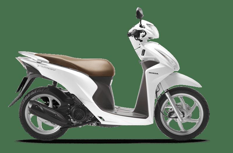 Honda Vision trắng nâu