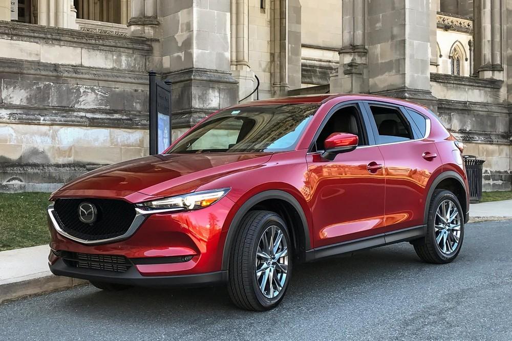 Dáng vẻ bên ngoài của Mazda CX-5 2019