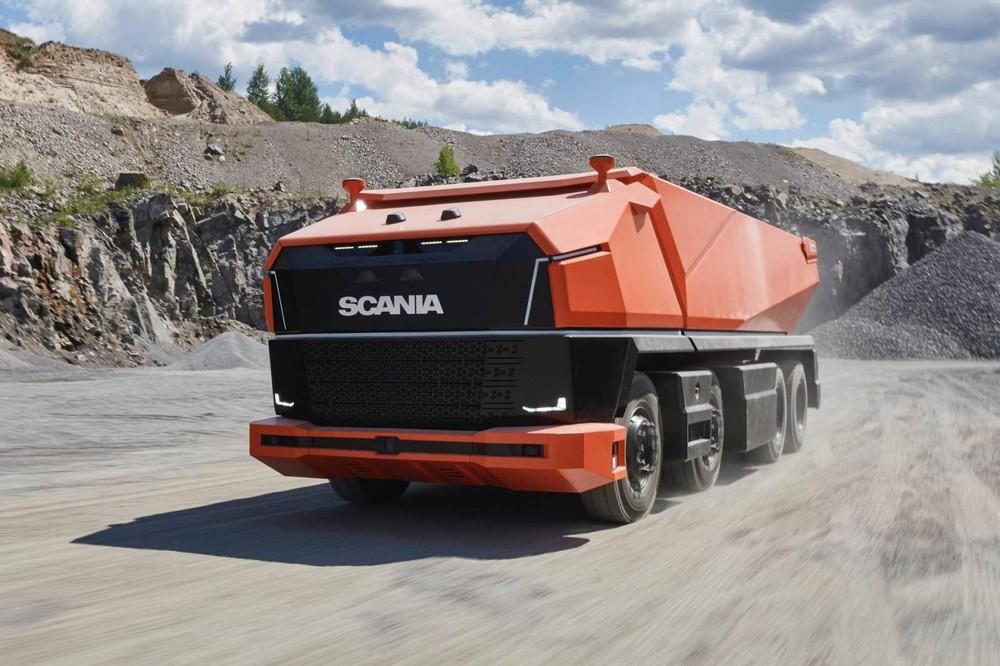 Xe tải hạng nặng tự hành Scania AXL