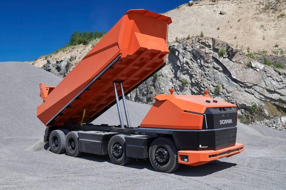 Xe tải tự hành hứa hẹn sẽ giúp ngành khai mỏ và xây dựng thêm phát triển