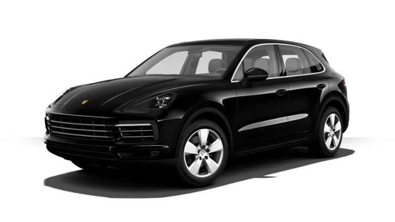 Porsche Cayenne màu đen