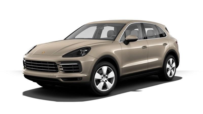 Porsche Cayenne màu palađi