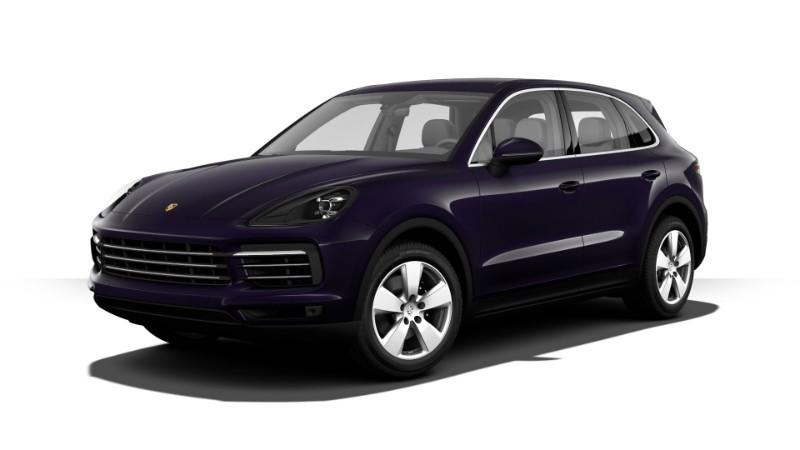 Porsche Cayenne màu tím