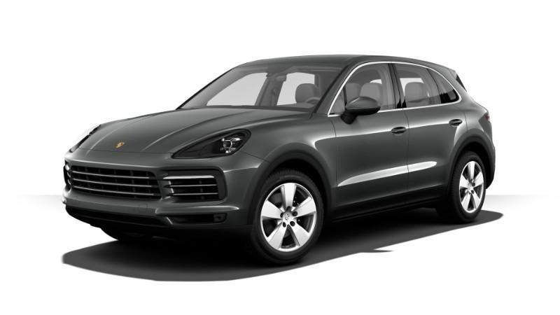 Porsche Cayenne màu xám