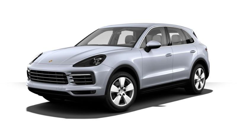 Porsche Cayenne màu bạc