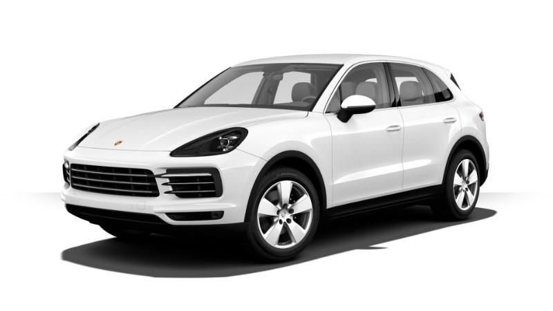 Porsche Cayenne màu trắng