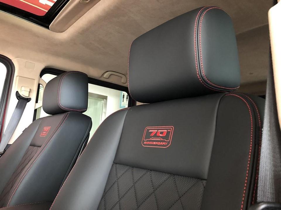 Ghế của BAIC BJ80 70 Anniversary Edition