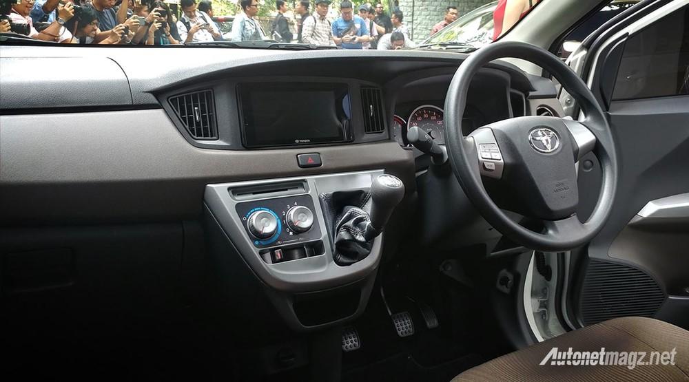 Nội thất bên trong Toyota Calya 2020 tại Indonesia