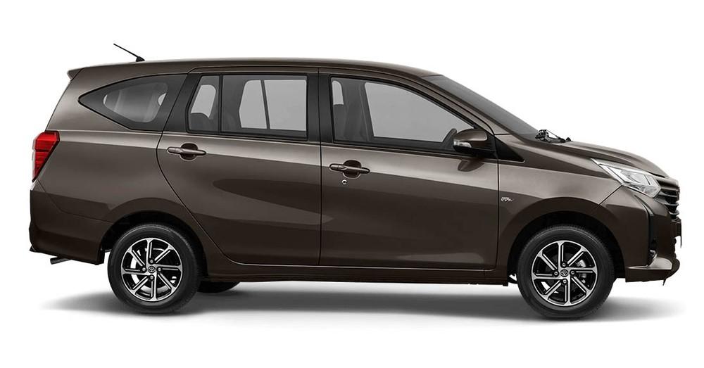 Sườn xe của Toyota Calya 2020 có bộ vành 14 inch mới
