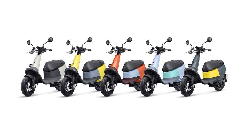 Dàn xe máy điện Gogoro Viva hoàn toàn mới