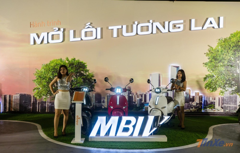Electric motorcycle manufacturer MBI appeared in Vietnam