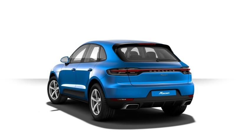 Porsche Macan màu lam Sapphire