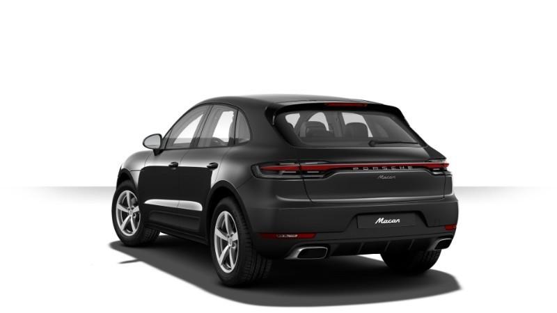 Porsche Macan màu xám