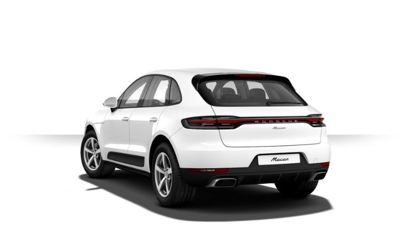 Porsche Macan màu trắng