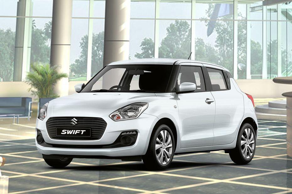 Suzuki Swift màu trắng