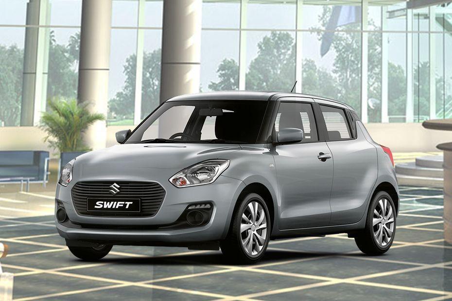 Suzuki Swift màu bạc