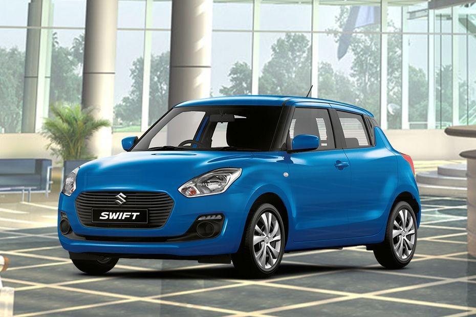 Suzuki Swift màu xanh