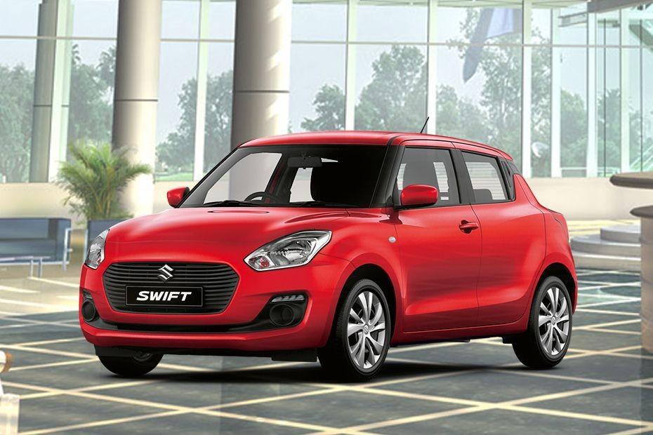 Suzuki Swift màu đỏ tươi