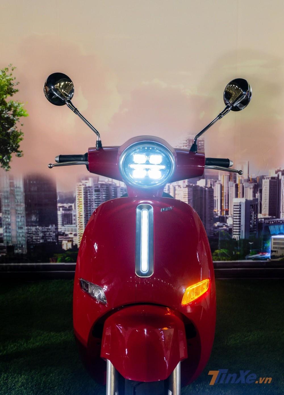 MBIGO MBI V trang bị hệ thống chiếu sáng LED