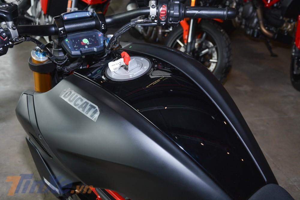 Ducati Diavel 1260S 2019 sở hữu màu sơn đen mờ huyền bí Thrilling Black