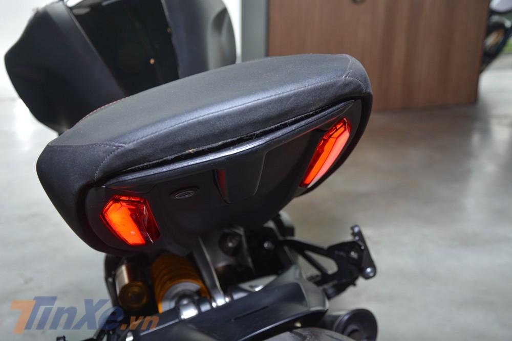 Đèn hậu LED của Ducati Diavel 1260S 2019