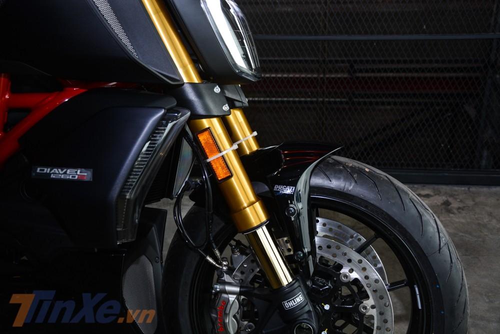 Ducati Diavel 1260S 2019 có sự thay đổi rất lớn ở hệ thống treo