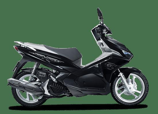 Honda Airblade đen bạc