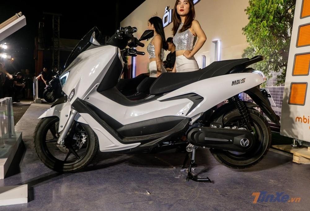 MBIGO MBI S mang thiết kế maxi-scooter cao cấp