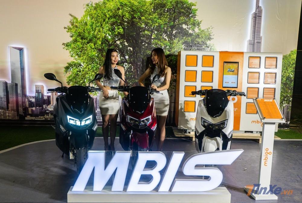 Xe máy điện MBIGO MBI S trang bị hệ thống chiếu sáng LED