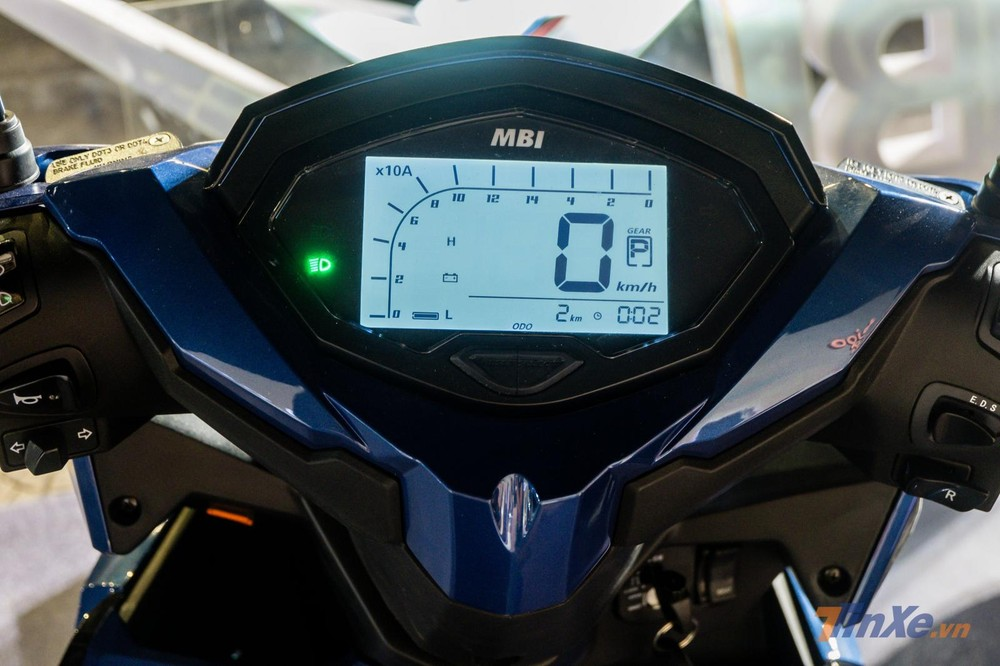 Đồng hồ tinh thể lỏng trên xe máy điện MBIGO MBI X