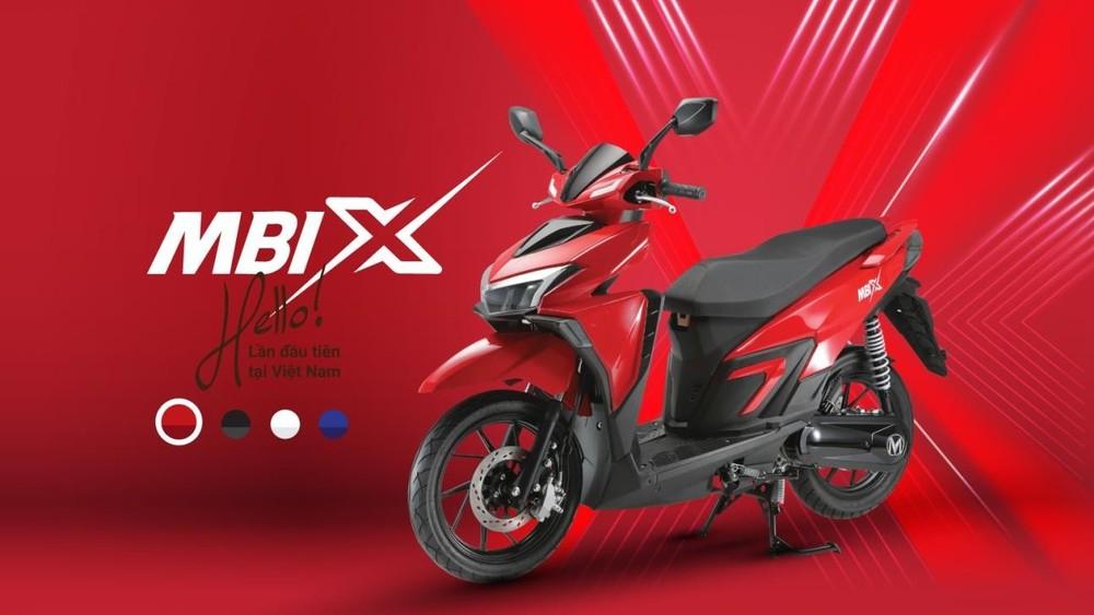 MBIGO MBI X có 4 tùy chọn màu sắc
