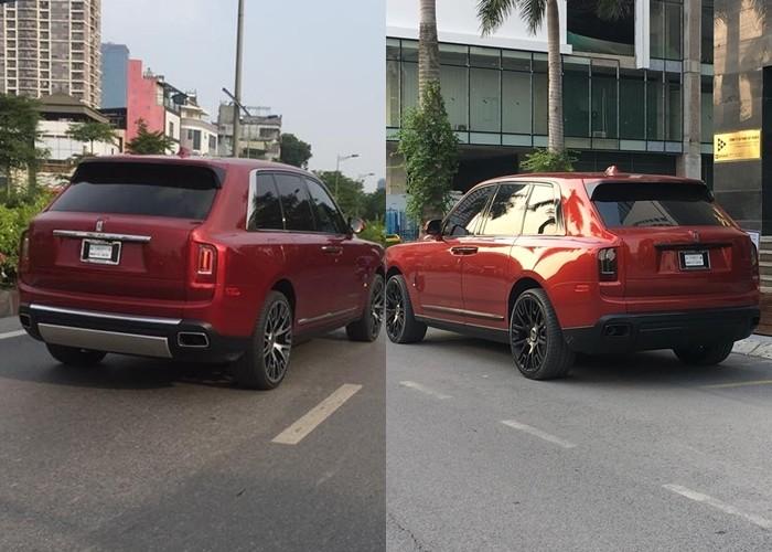 Đây là diện mạo của Rolls-Royce Cullinan màu đỏ độc nhất Việt Nam sau hơn 3 tháng cập bến
