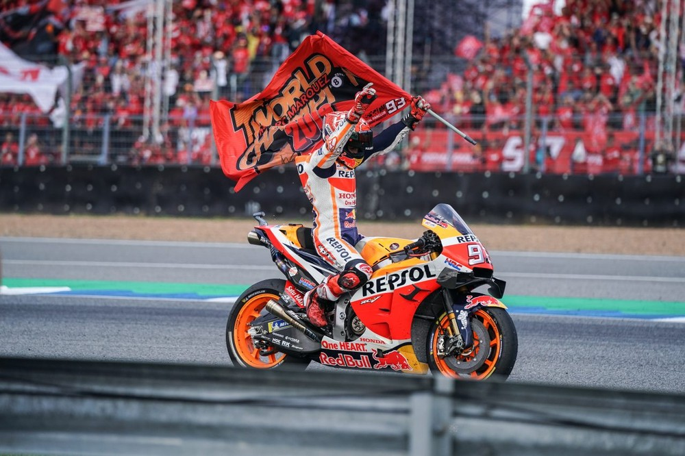Marc Marquez chính thức lên ngôi vô địch khi mua giải MotoGP 2019 vẫn còn 4 chặng