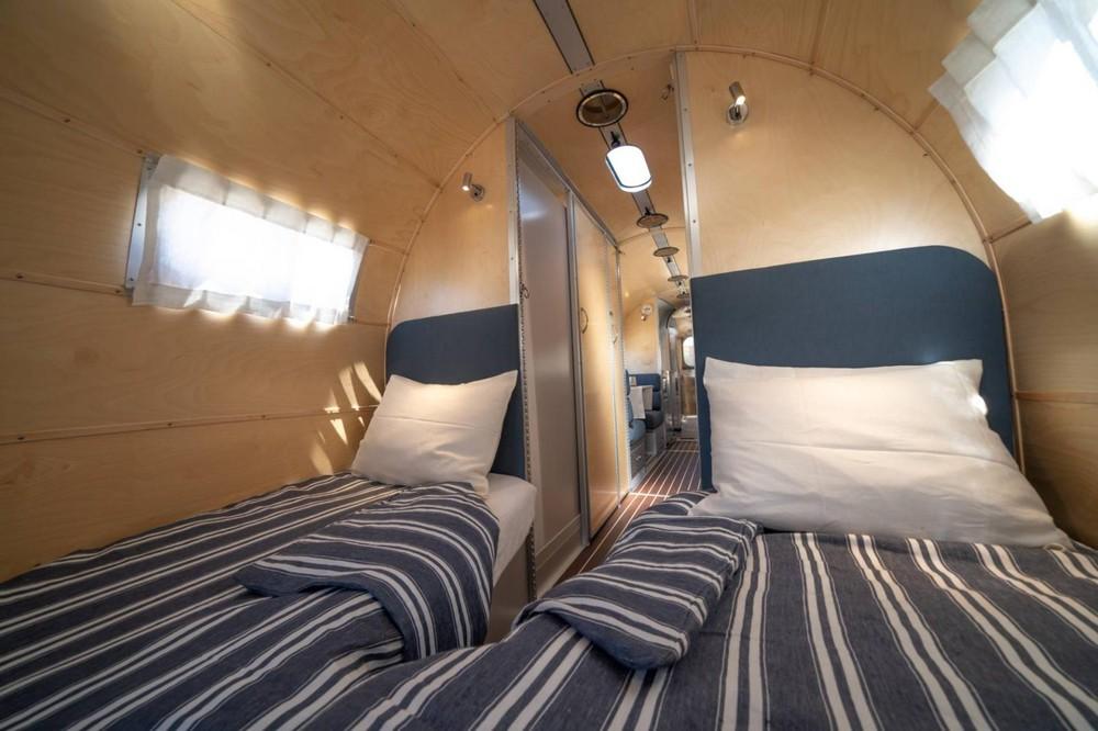 Thiết kế phòng ngủ cho hai người trong xe