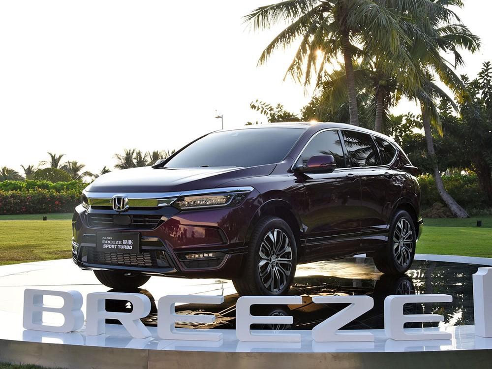 Honda Breeze 2020 chính thức ra mắt Trung Quốc như phiên bản khác của CR-V