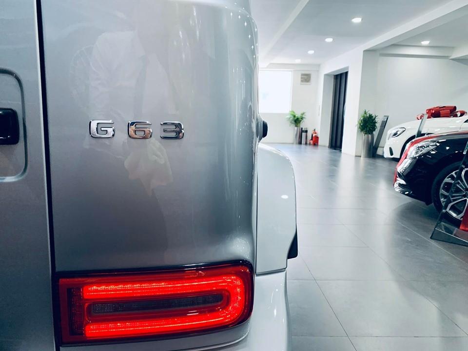 Còn đây là đèn hậu của Mercedes-AMG G63 2019