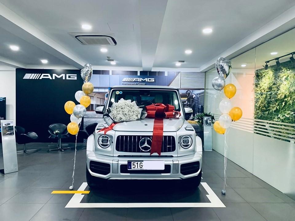 Mercedes-AMG G63 2019 chính hãng thứ 2 bàn giao cho khách