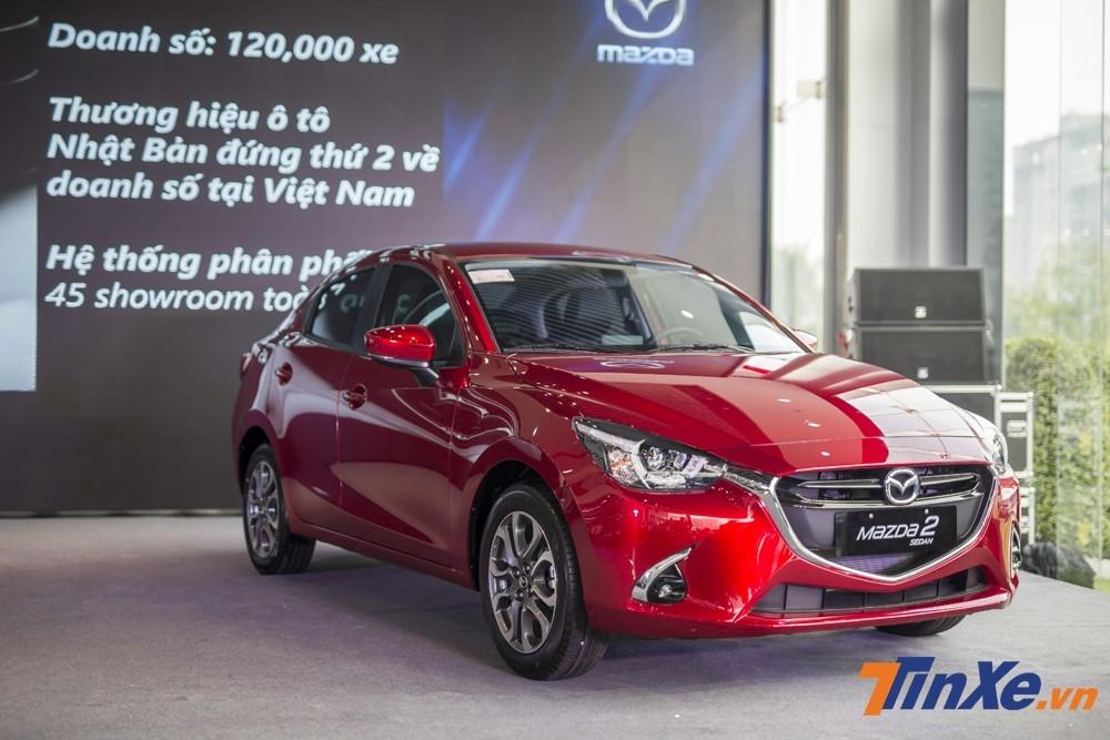 Mazda2 có sức bán chưa thực sự tốt trong phân khúc