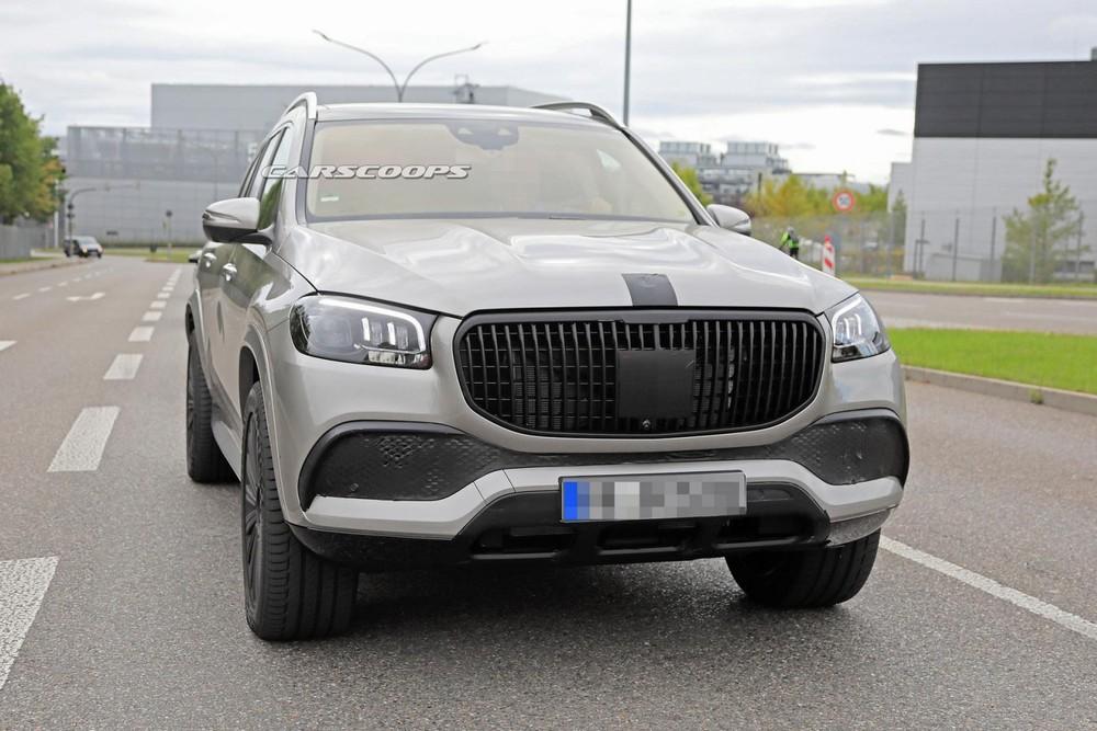Mercedes-Maybach GLS 2020 được trang bị lưới tản nhiệt riêng