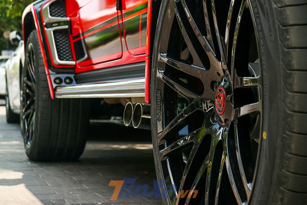 Nhưng chiếc Mercedes-AMG G63 Edition 1 độ Brabus 800 Widestar này không có nâng cấp nào ở động cơ của xe