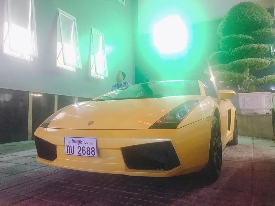 Lamborghini Gallardo là chiếc siêu xe thứ 4 mang biển Lào vào Việt Nam định cư