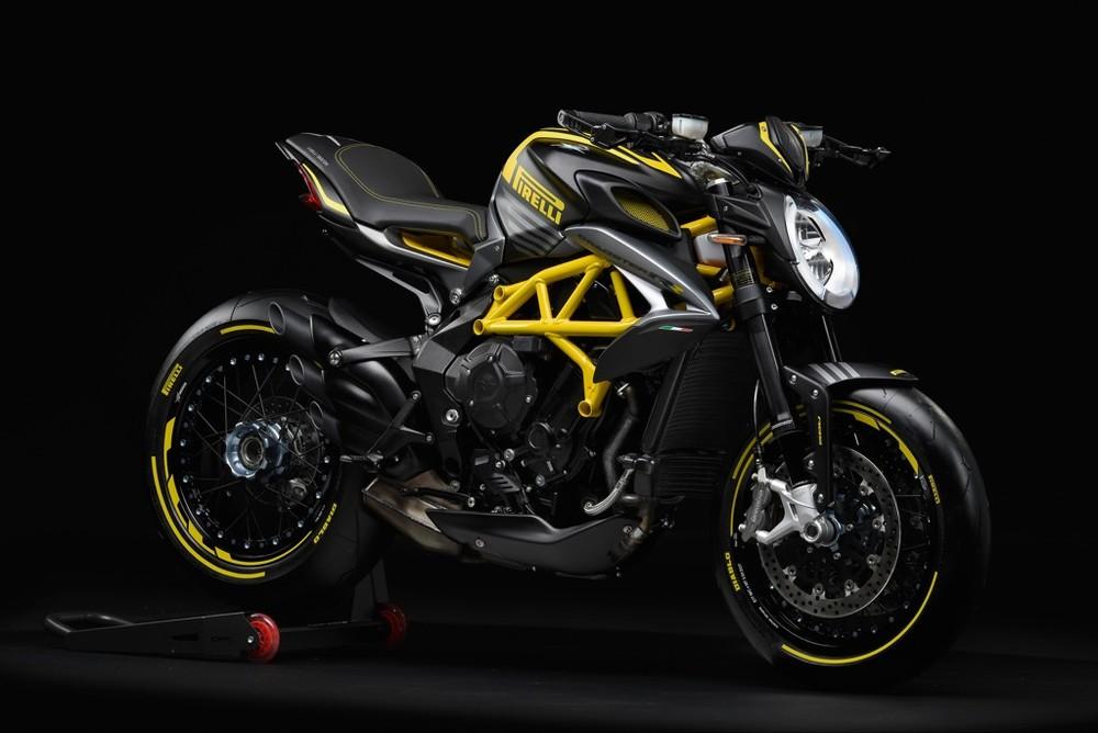 MV Agusta Dragster 800 RR Pirelli màu Đen Vàng