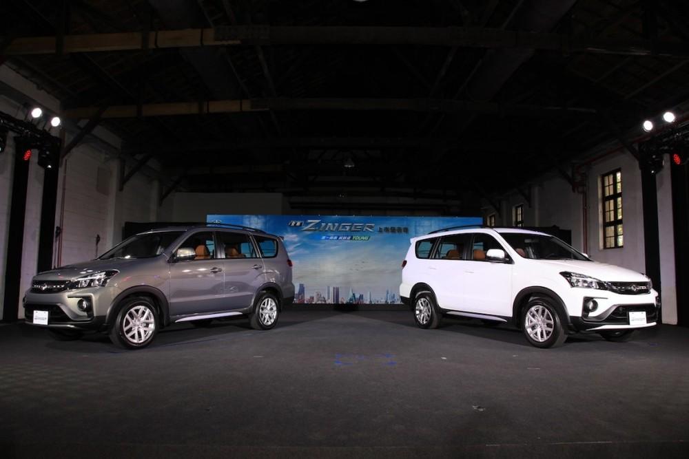 Mitsubishi Zinger 2020 ra mắt Đài Loan