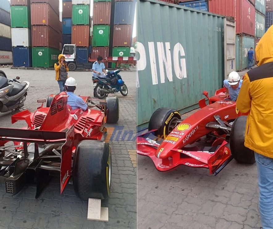 Xe đua Công thức 1 của Ferrari cũng về Việt Nam