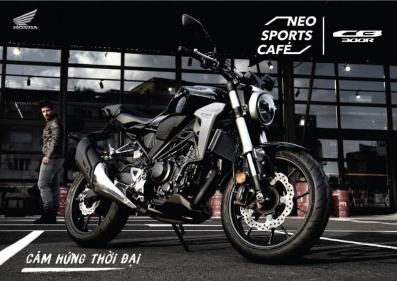 Honda CB300R được phân phối chính hãng tại Việt Nam
